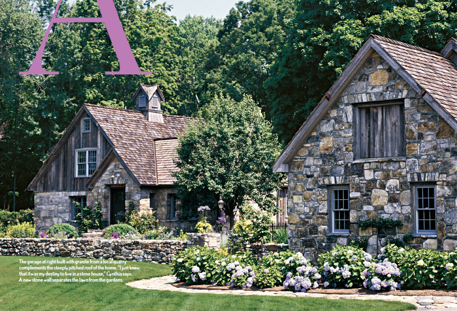 Stone cottage Better homes and gardens current issue